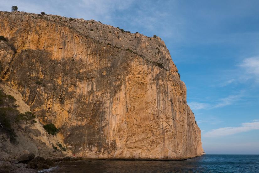 Impressive cliff