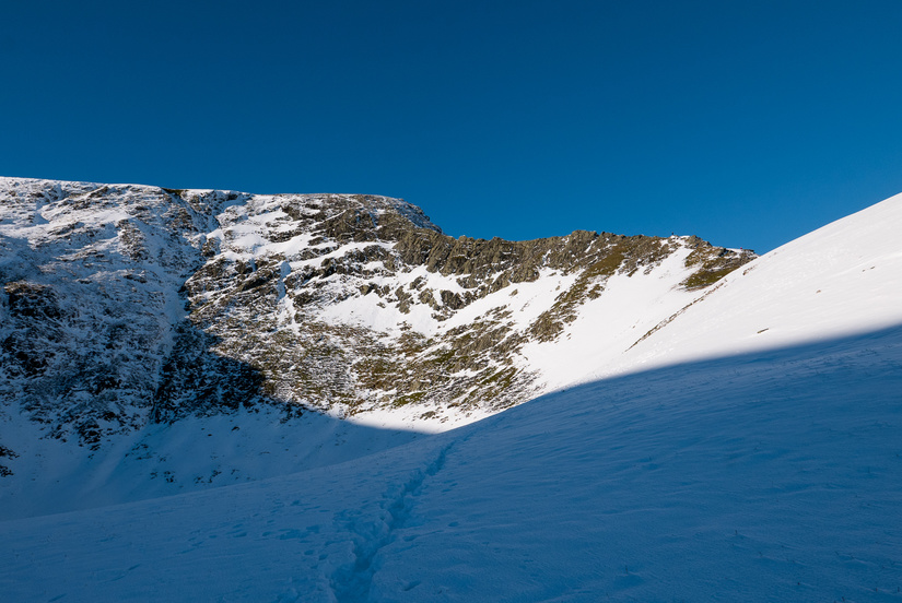 An alpine Sharp Edge