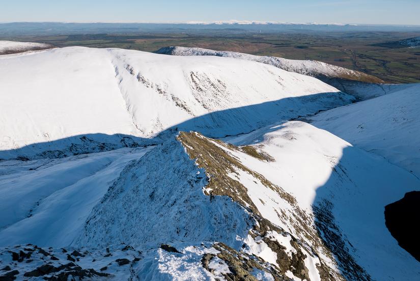 A ridge of two halfs