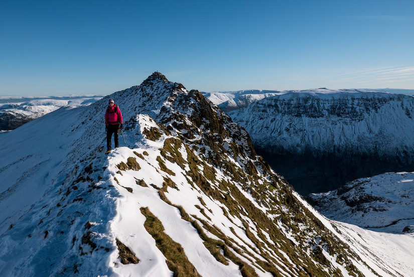 Striding Edge at it's best